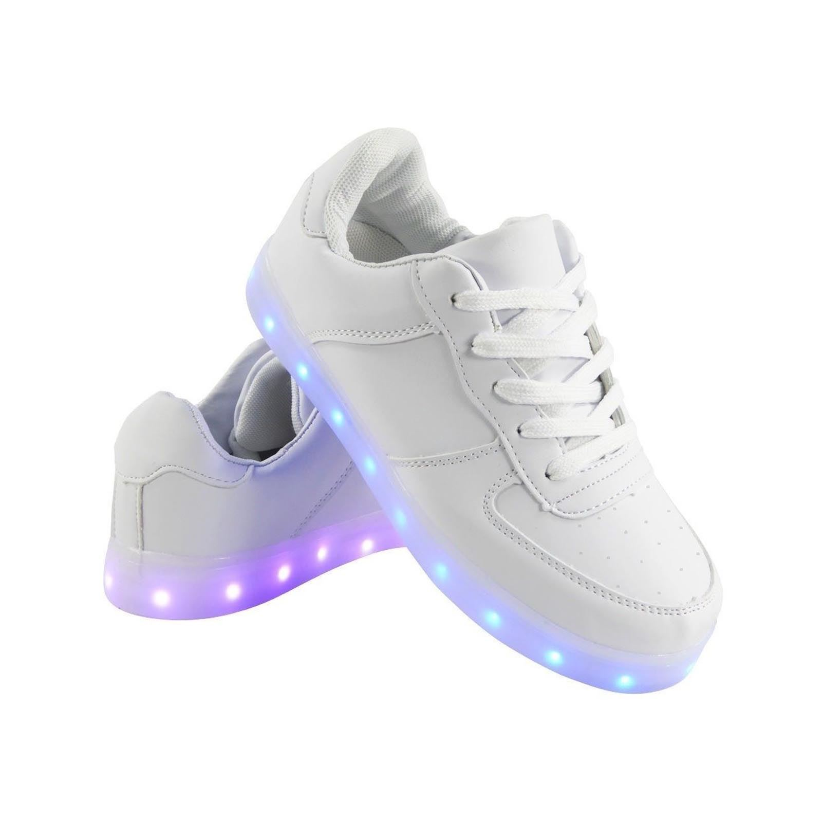 ODEMA LED Trainers Sport Sneakers 7 Colors USB Charging Low Top Light up Shoes Sneakers for Women Men Size by ODEMA Usually dispatched within 4 to 5 days.
