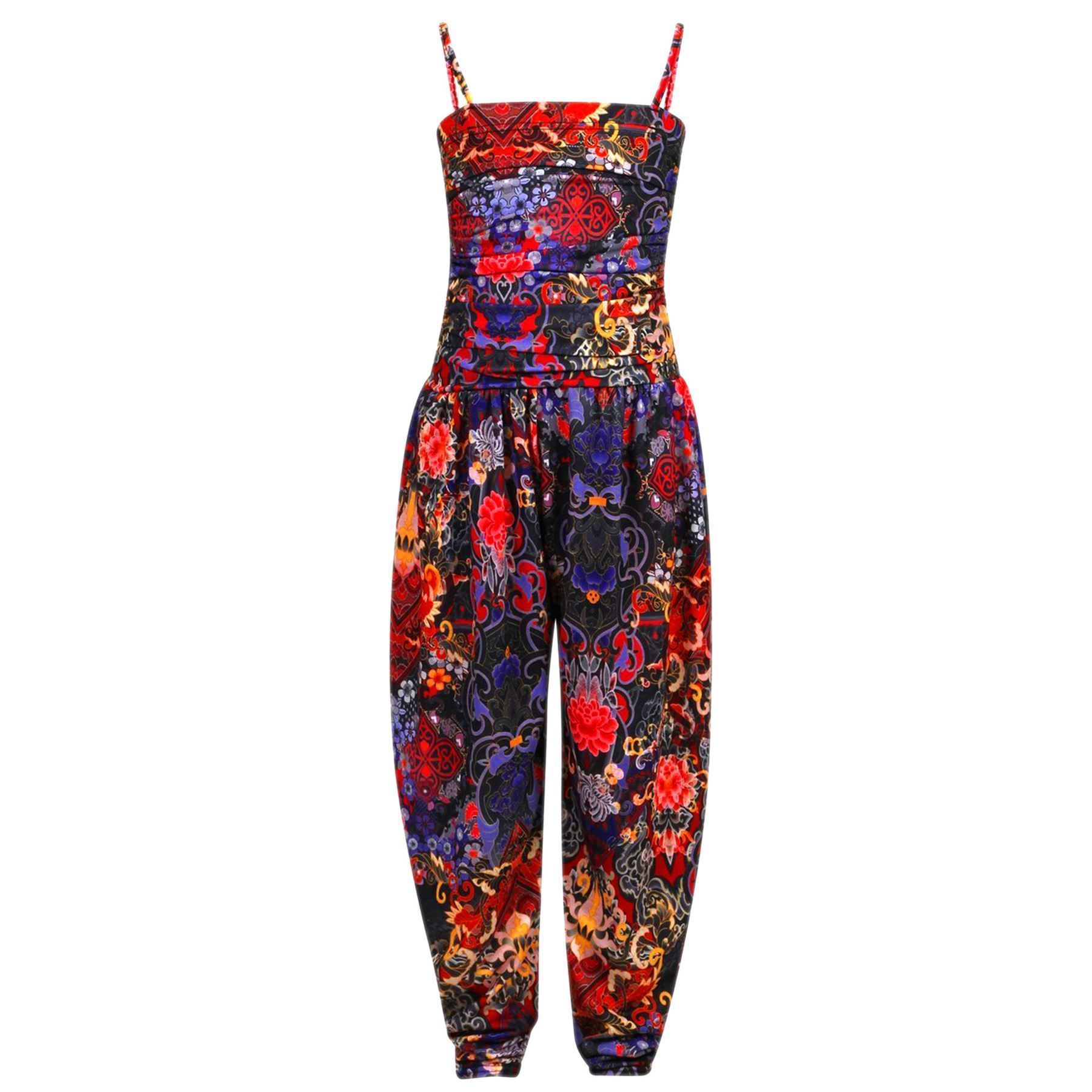 Girls Jumpsuit Kids Floral Leopard Aztec Tribal Print Trendy Playsuit All In One | EBay