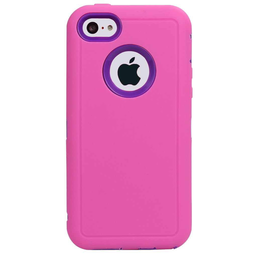 Heavy Duty Defender High Impact Dirt/Shockproof Armor Case Cover for iPhone 5c