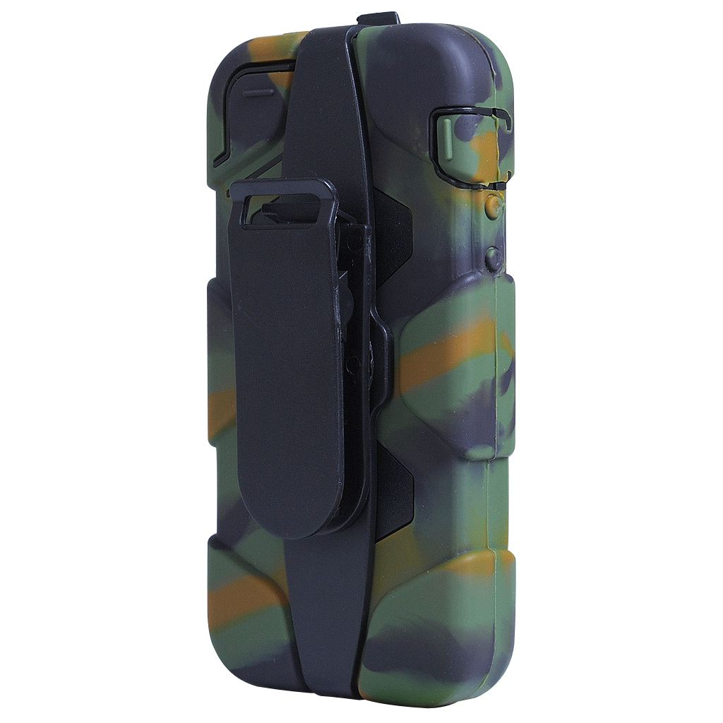 ... Military Army Camouflage Case +Belt Clip Holster for Apple iPhone 5
