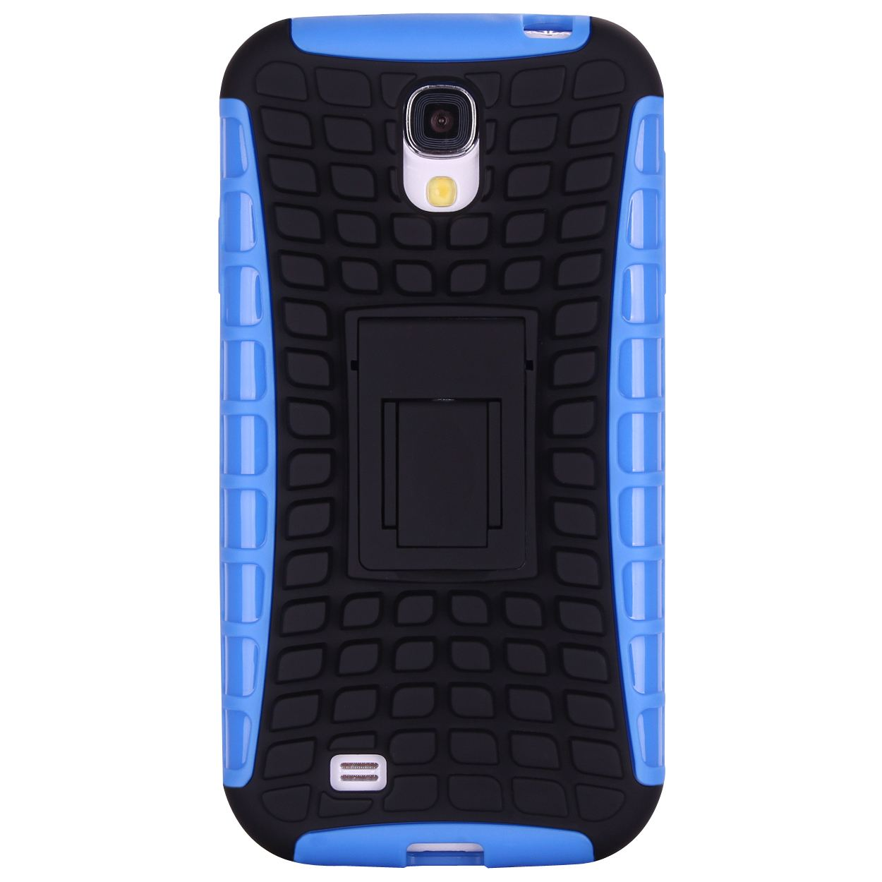 Grenade Heavy Duty Hybrid Hard/Soft Skin Case Cover Stand for Samsung Galaxy S4
