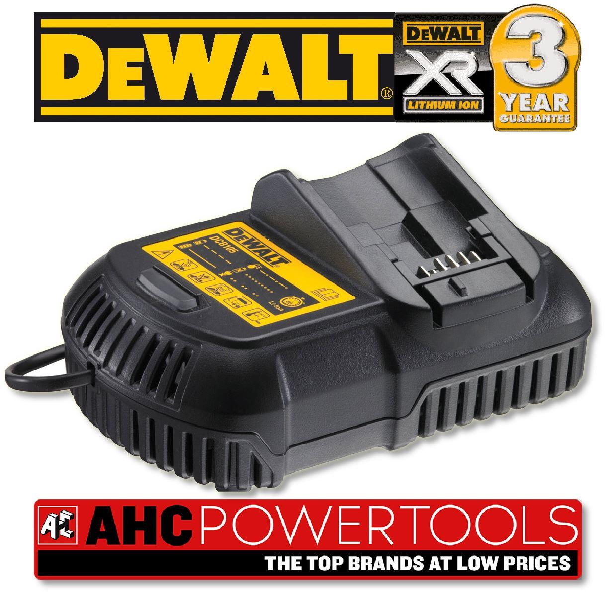 Dewalt Dcb105 Li Ion Xr Battery Charger 10 8v 18v Ebay