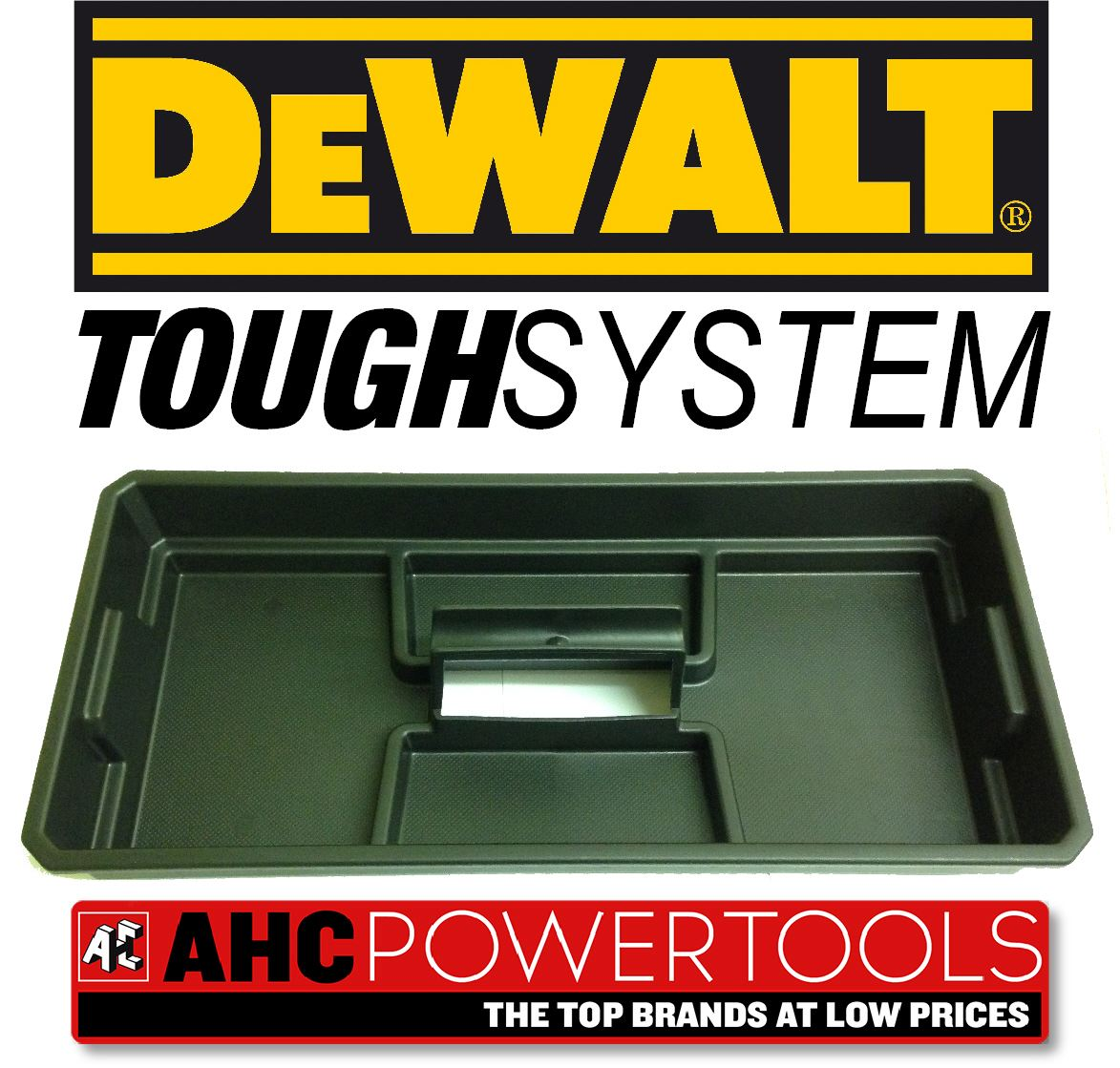 Dewalt Tote Tray Insert For Ds150 Ds300 Ds400