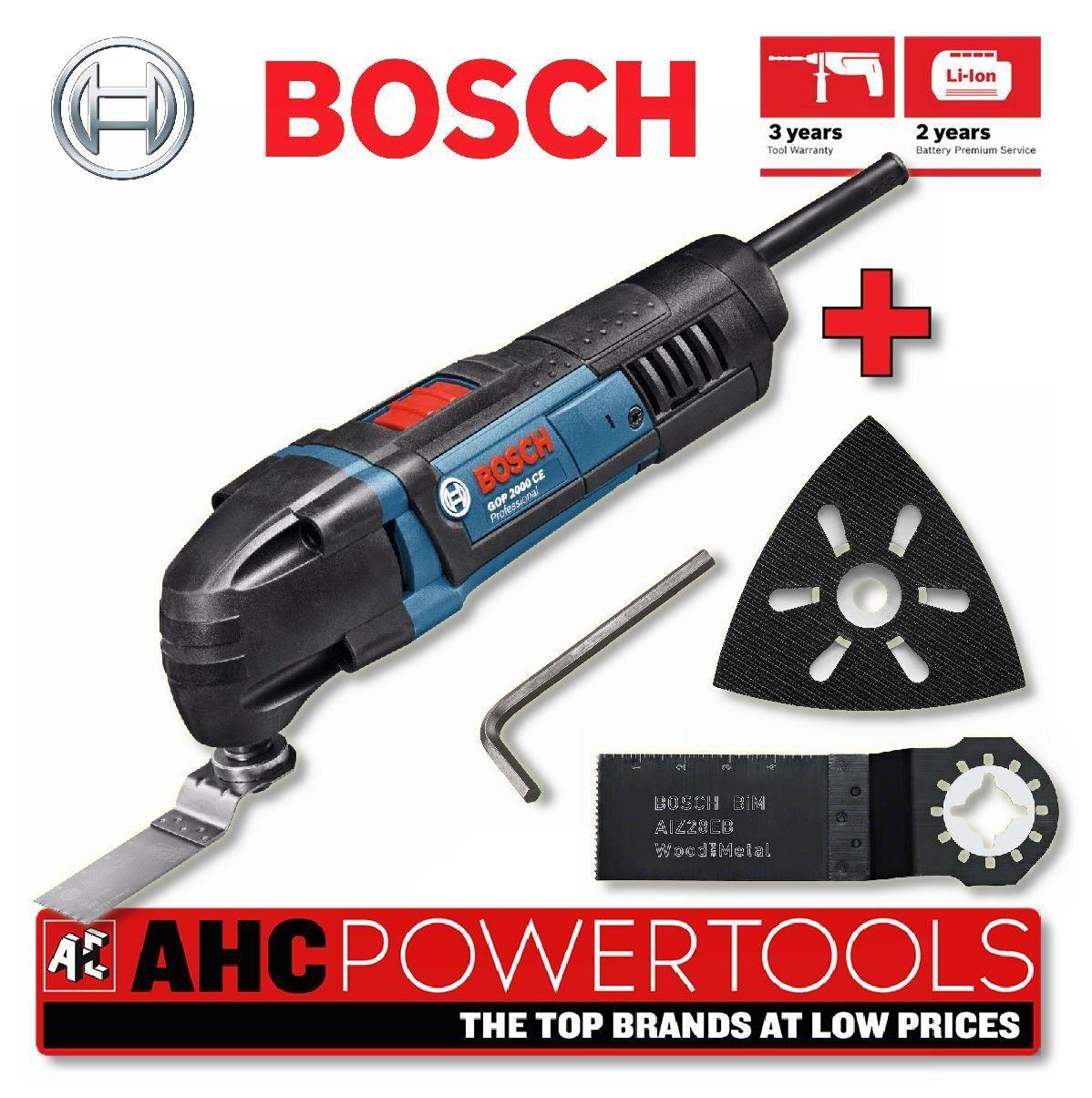 bosch gop 2000 ce gop250 250w professional multi cutter 110v ebay. Black Bedroom Furniture Sets. Home Design Ideas