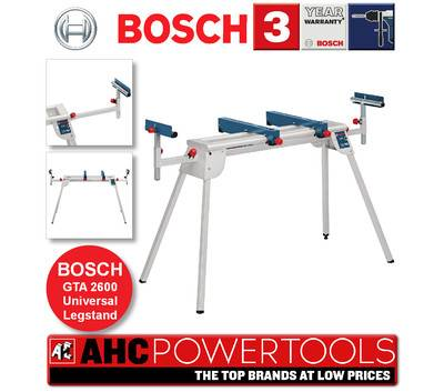bosch gta 2600 mitre saw leg stand universal fits dewalt makita hitachi etc ebay. Black Bedroom Furniture Sets. Home Design Ideas