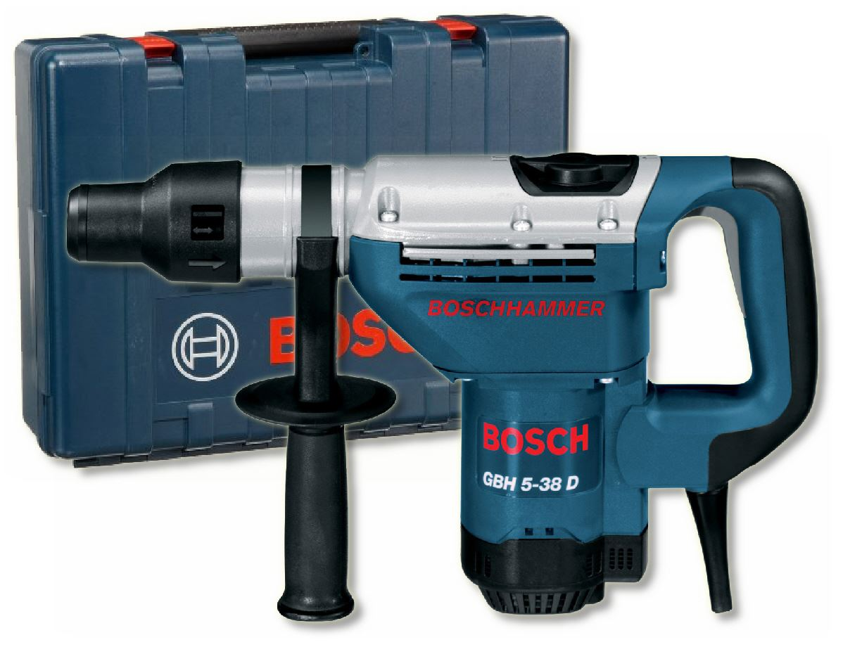 bosch gbh5 38 d 110v sds max 5kg rotary hammer in carry case ebay. Black Bedroom Furniture Sets. Home Design Ideas