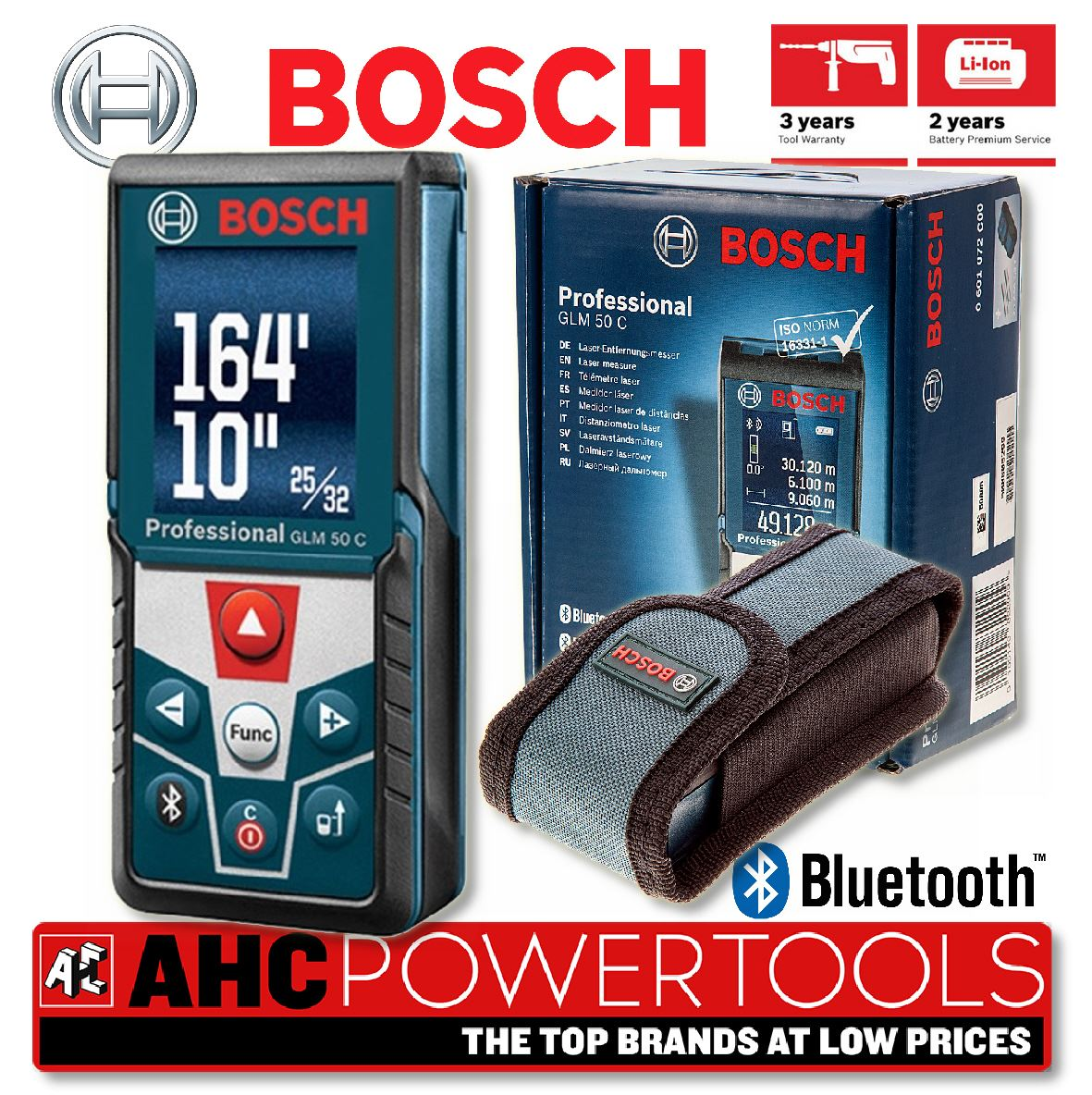 bosch glm 50 c professional bluetooth laser distance measure range finder ebay. Black Bedroom Furniture Sets. Home Design Ideas