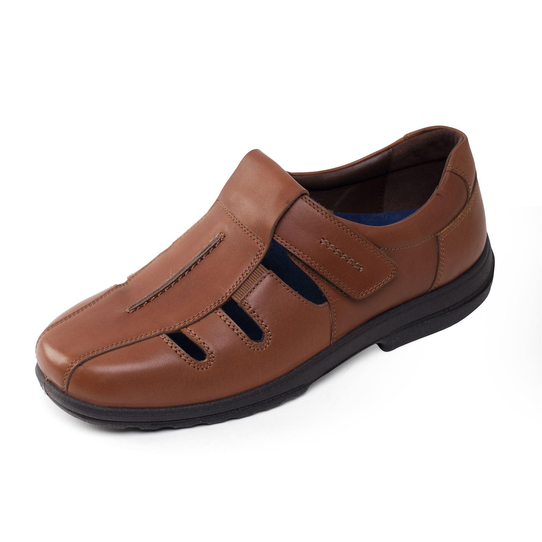 Padders Plus Men's Leather Shoe 'Dawlish'