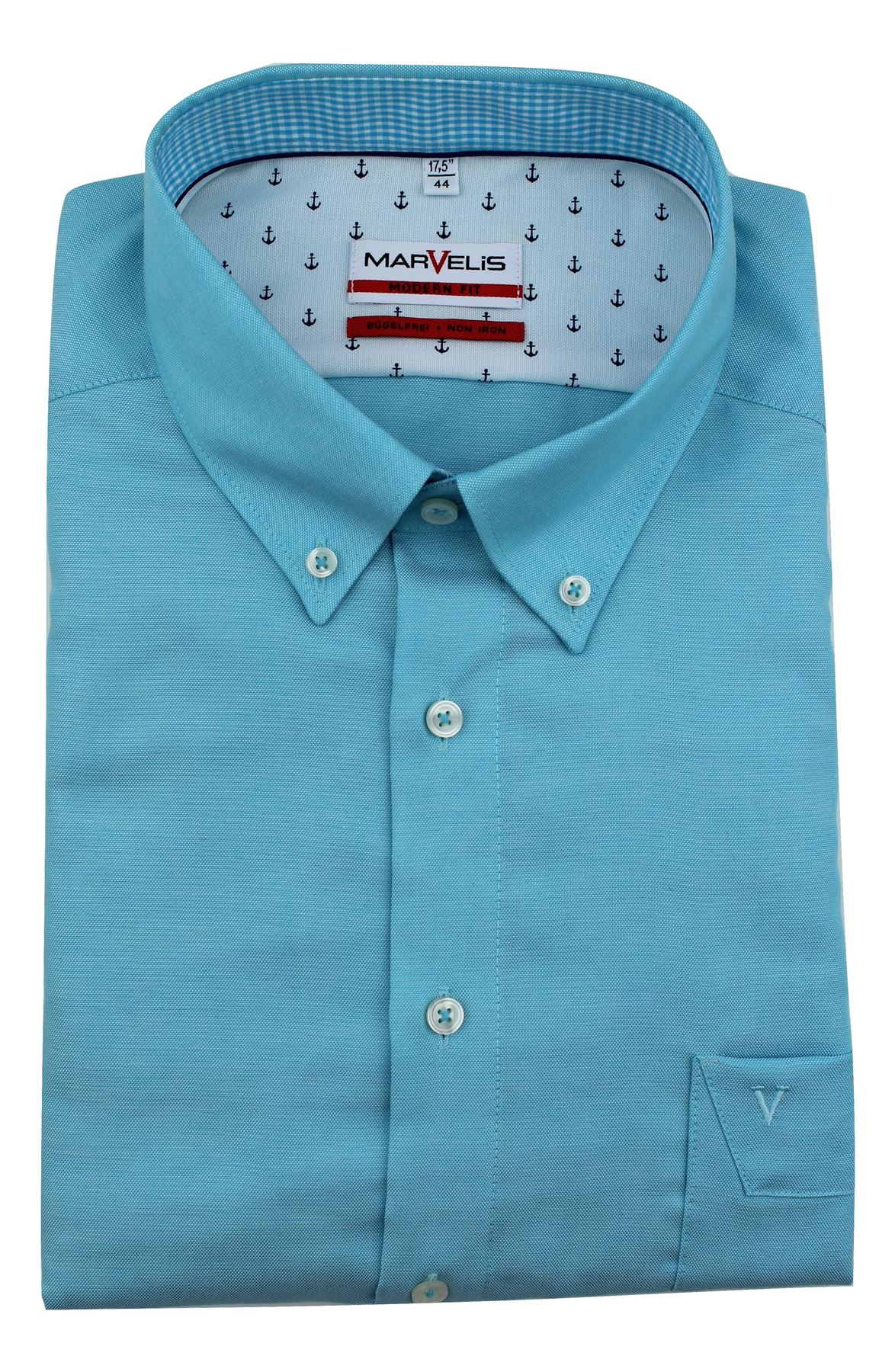 Mens shirt marvelis slim tailored modern fit non iron for Slim fit non iron shirts