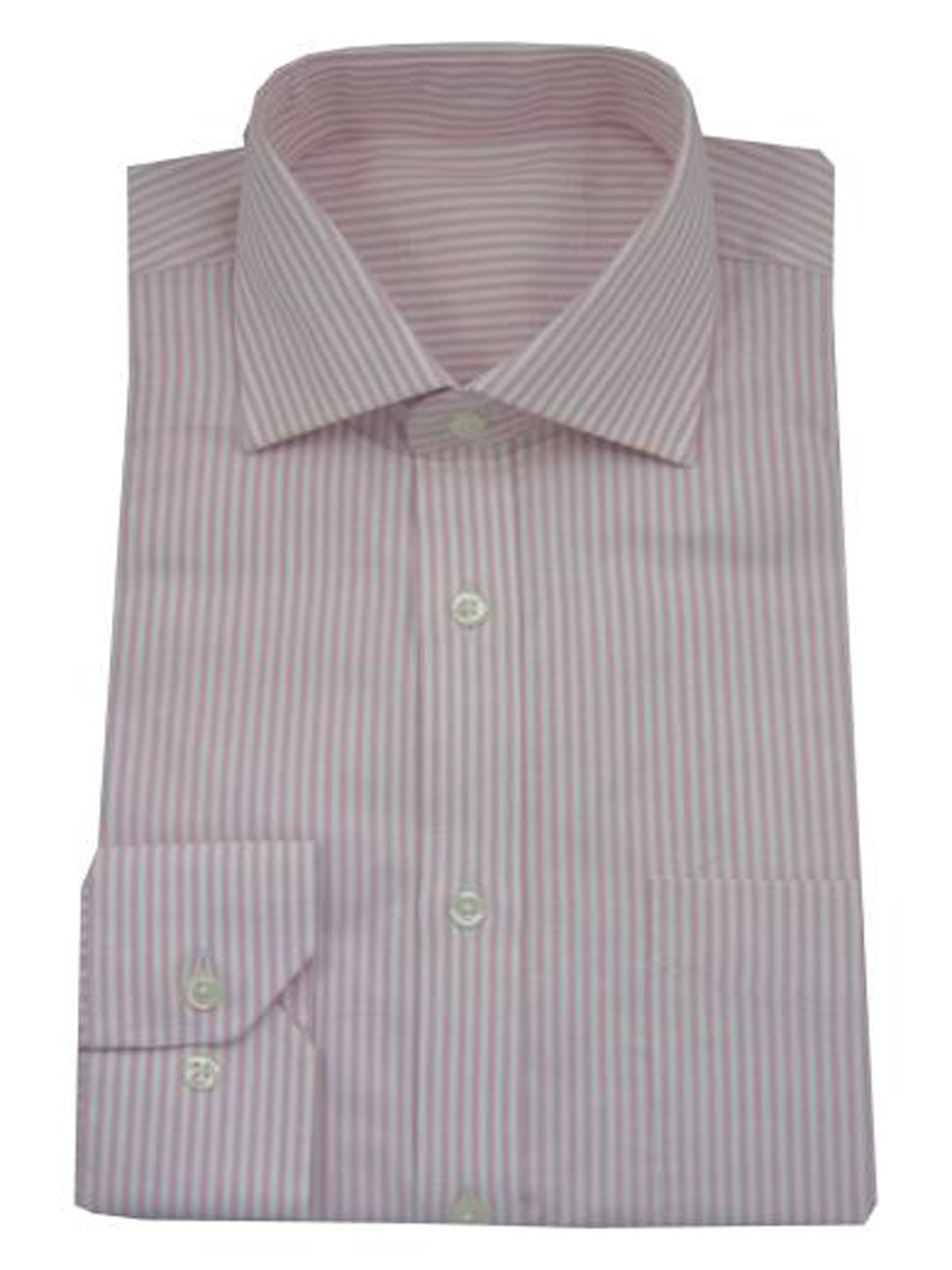 Mens shirt slim fit pure cotton cutaway spread collar long for Spread collar slim fit dress shirts