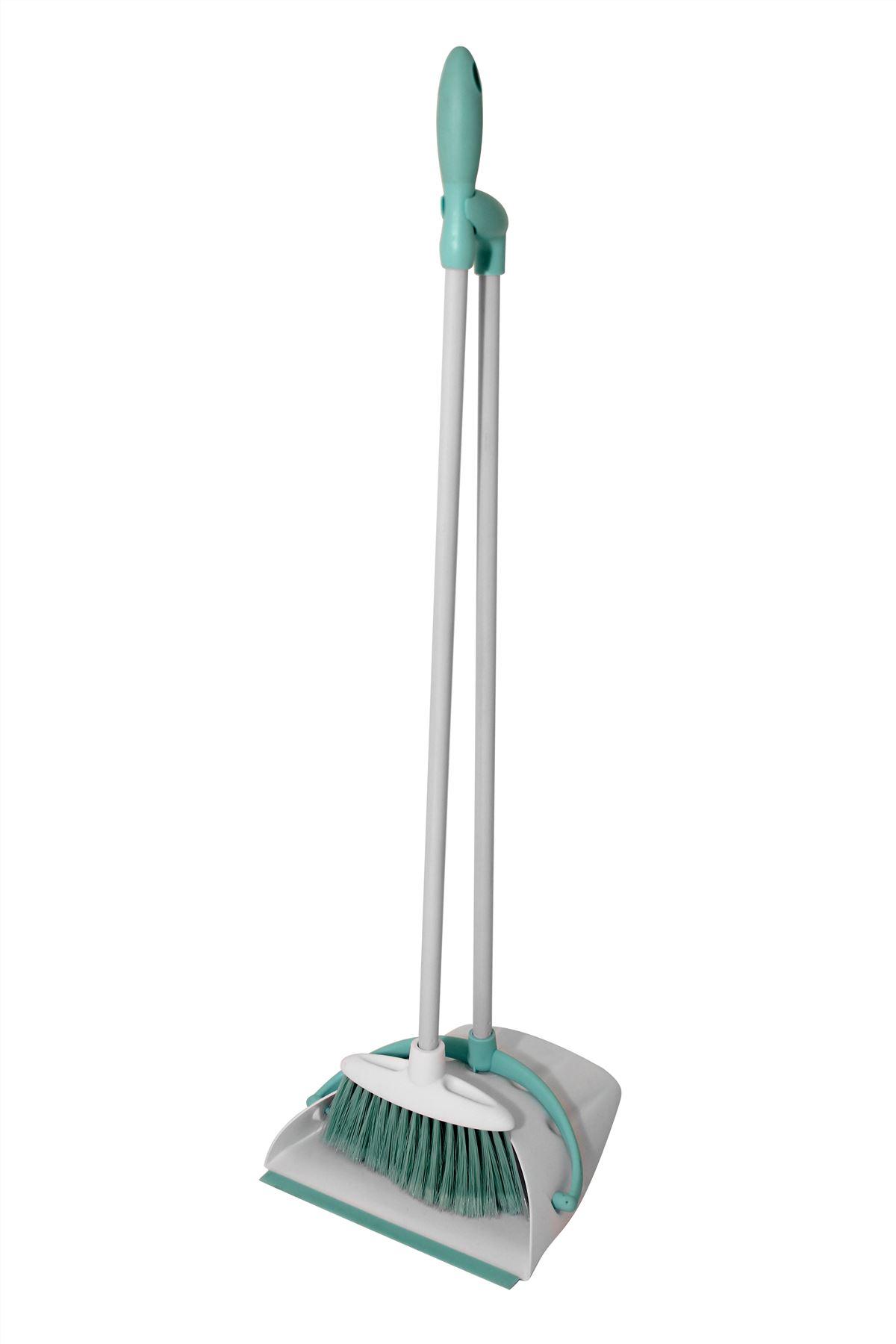 Household Long Handled Dustpan And Brush Set Lobby Dust