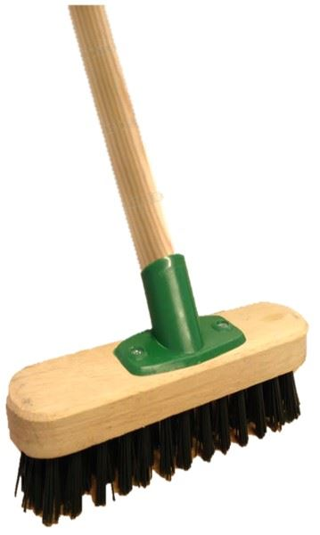 Extra Strong Heavy Duty Decking Wpc : Heavy duty stiff floor scrubbing deck scrub brush yard