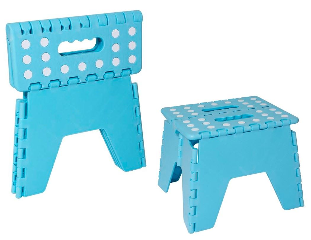 Portable Folding Step Stool Small Heavy Duty Collapsible