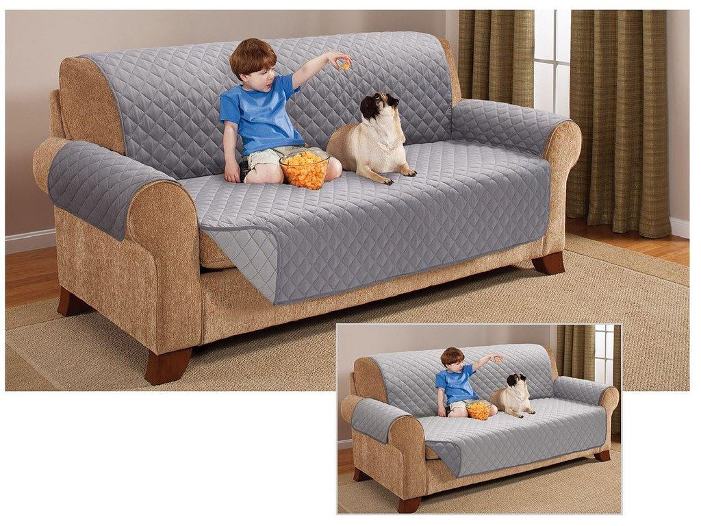 Reversible Sofa Protector Armchair Throw Settee Furniture