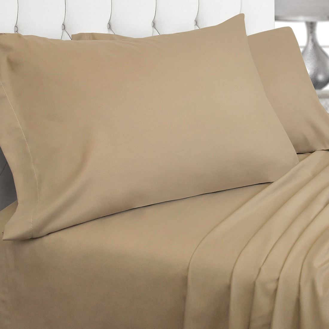 Luxury 200 thread count fitted sheet 100 egyptian cotton for Highest thread count egyptian cotton sheets