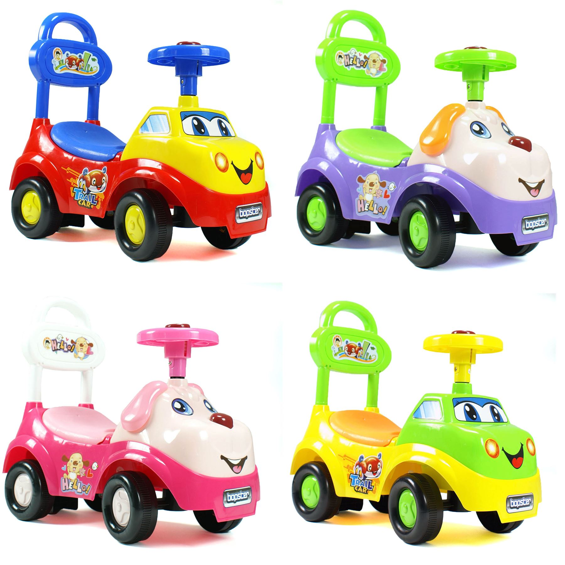 bopster b b tout petits ride on pousseur enfants voiture ebay. Black Bedroom Furniture Sets. Home Design Ideas