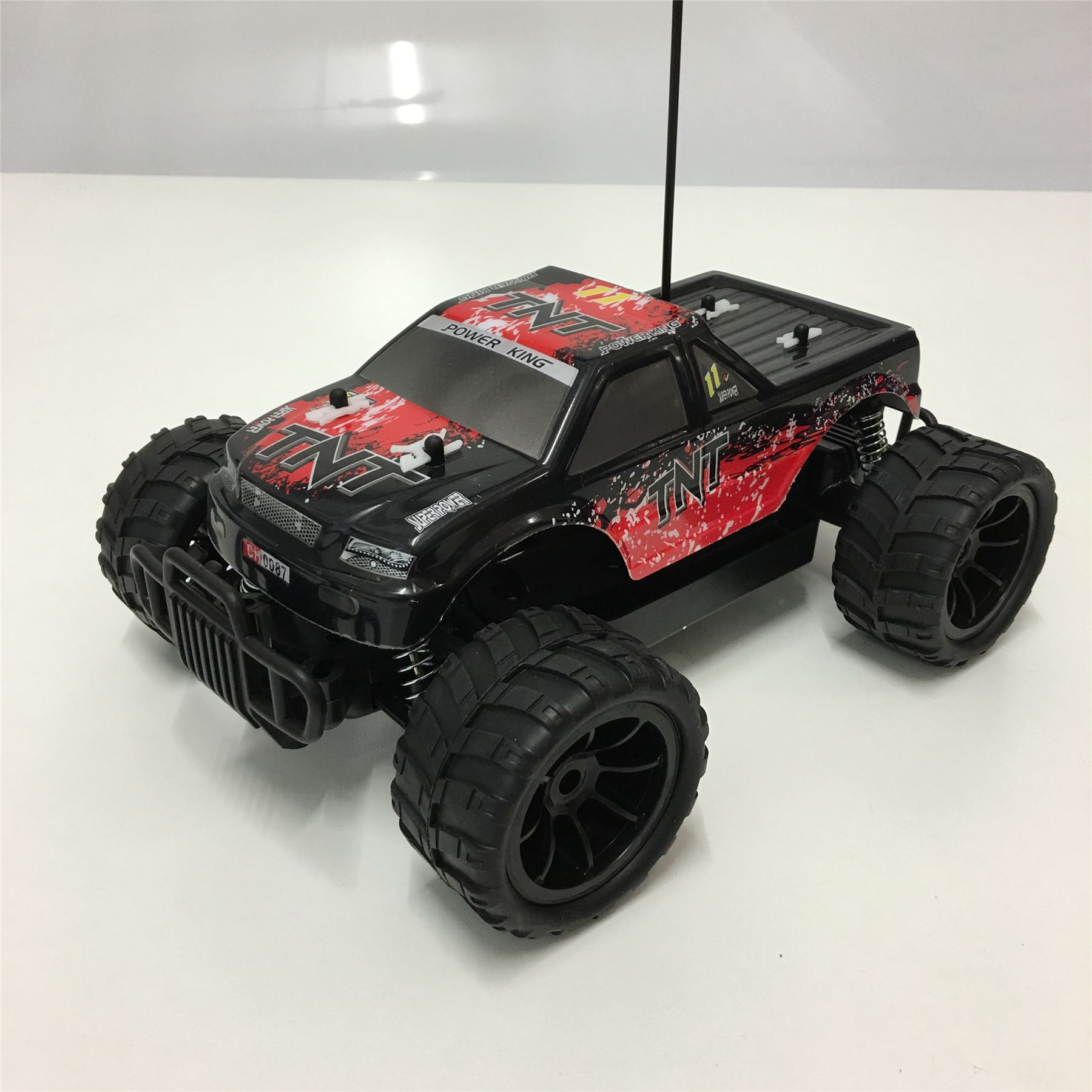 1 16 radio t l commande voiture rc buggy tout terrain monster truck d riveur ebay. Black Bedroom Furniture Sets. Home Design Ideas