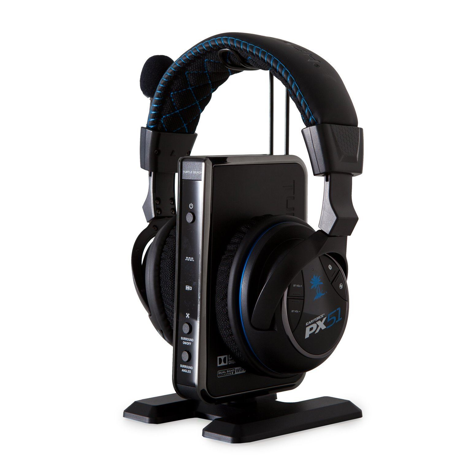 turtle beach ear force px51 wireless 5 1 sound gaming. Black Bedroom Furniture Sets. Home Design Ideas