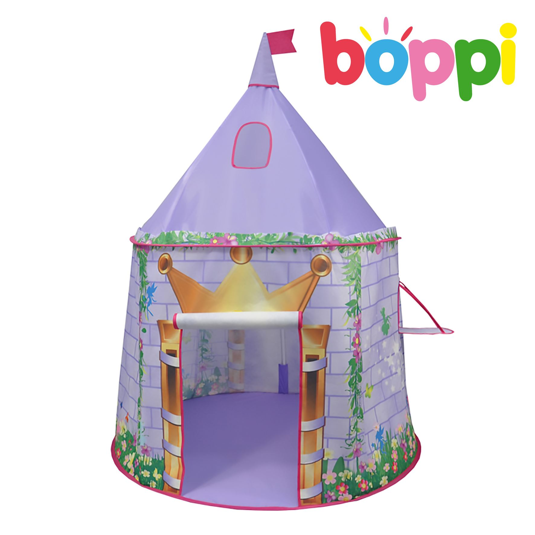 Childrens Kids Canvas Palytent Pop Up Princess Outdoor