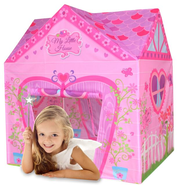 girls boys play tent childrens kids pop up indoor outdoor. Black Bedroom Furniture Sets. Home Design Ideas