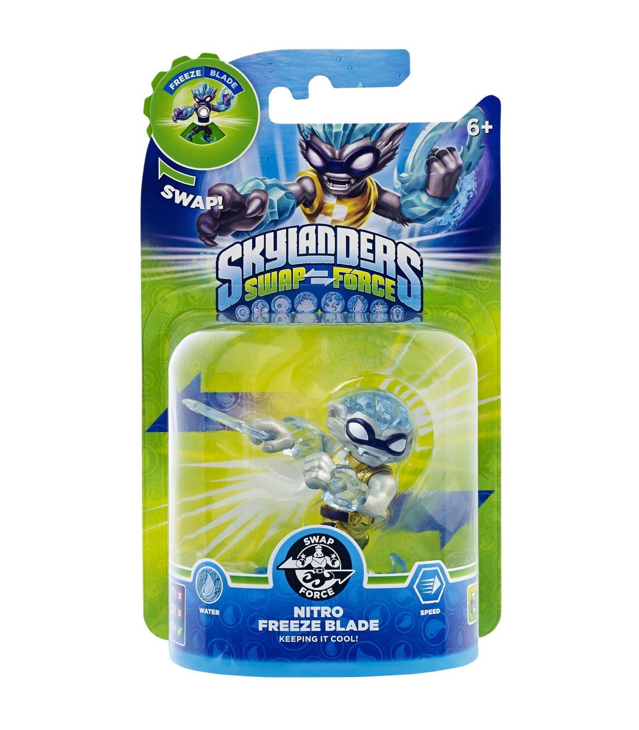 SKYLANDERS SWAP FORCE NITRO FREEZE BLADE FIGURE *NEW & SEALED*