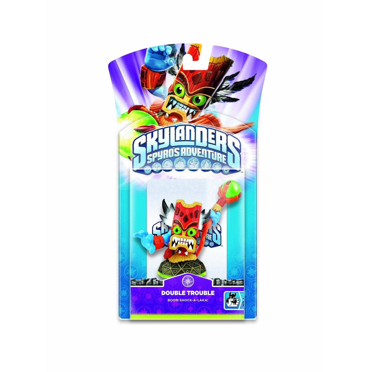 SKYLANDERS SPYRO'S ADVENTURE CHARACTER PACK DOUBLE TROUBLE *NEW*