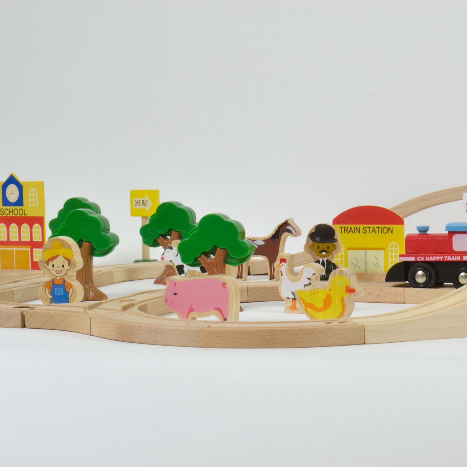 build your own wooden toy train | Quick Woodworking Ideas