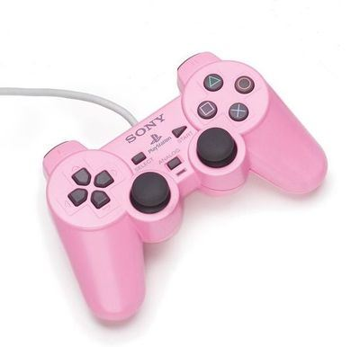 OFFICIAL SONY DUALSHOCK CONTROLLER (PINK) PS2 *NEW*