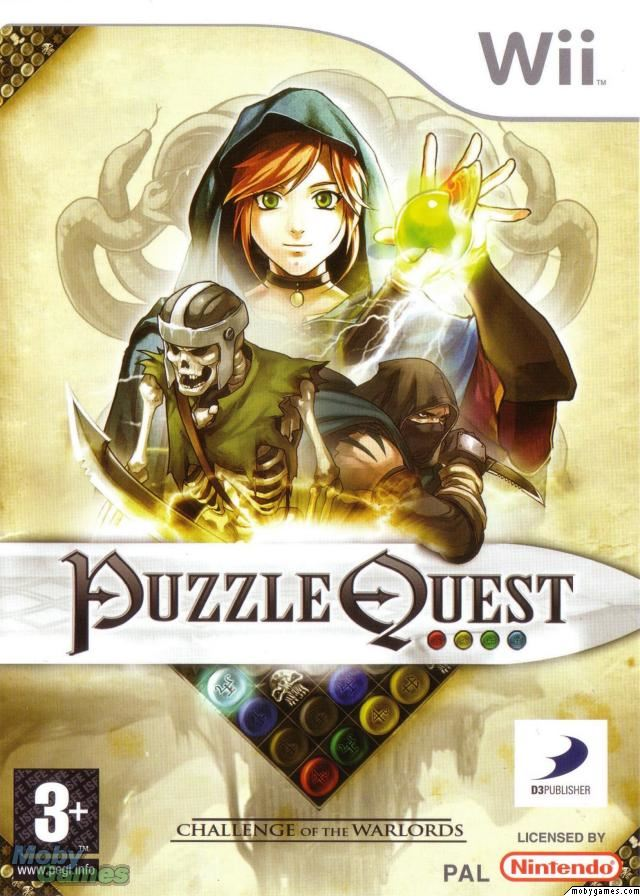 PUZZLE QUEST: CHALLENGE OF THE WARLORDS Wii *New*