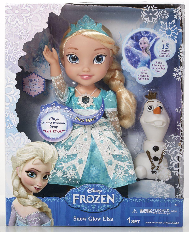 Elsa Singt Puppe
