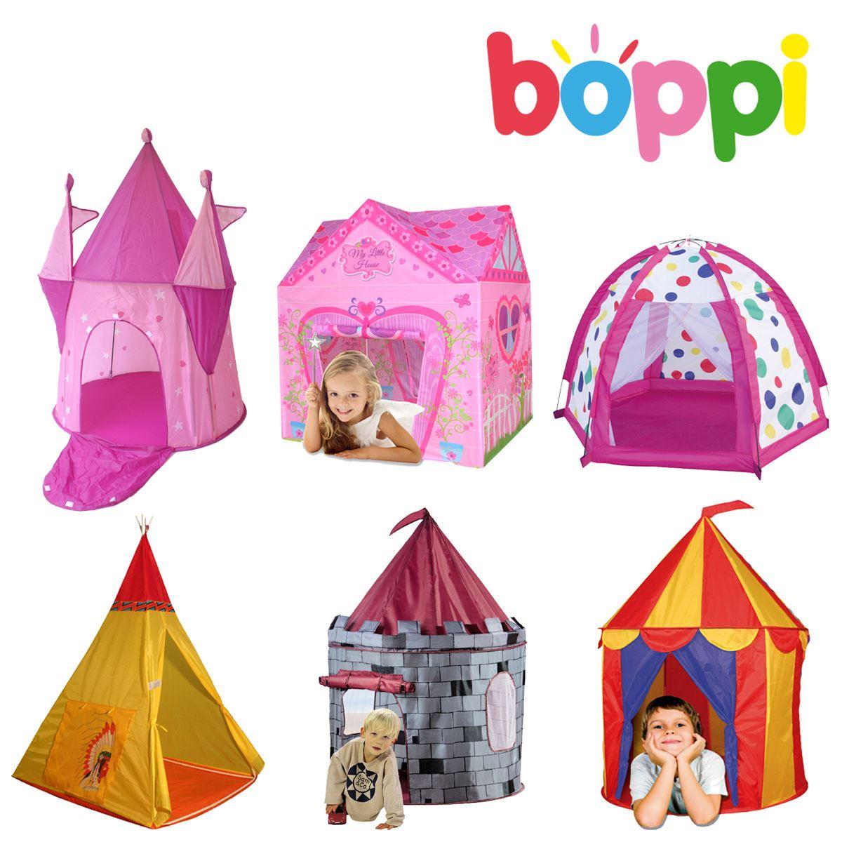 girls boys play tent childrens kids pop up indoor outdoor garden castle ebay. Black Bedroom Furniture Sets. Home Design Ideas