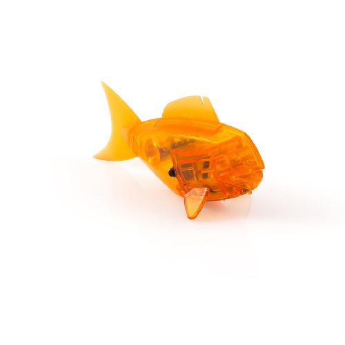 Hexbug aquabot robotic fish with bowl orange clownfish the for Hex bug fish