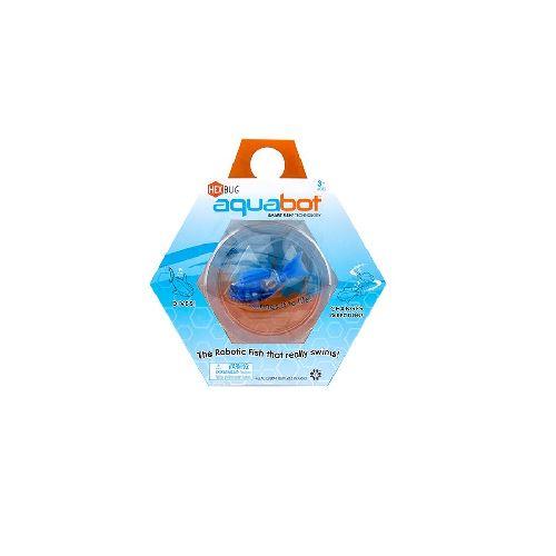 Hexbug aquabot robotic fish with bowl blue clownfish the for Hex bugs fish