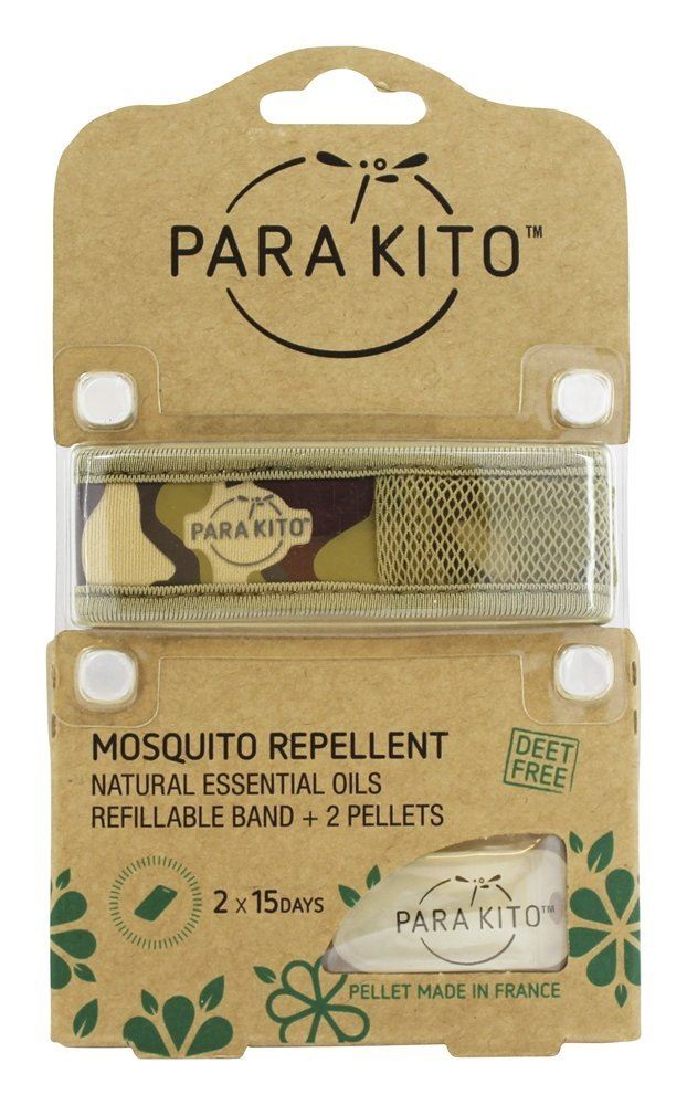 Para 39 kito mosquito repellent wrist bands refillable band for Mosquito pellets