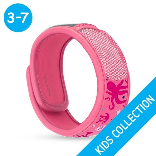 Para 39 kito mosquito repellent kids bands refillable band for Mosquito pellets