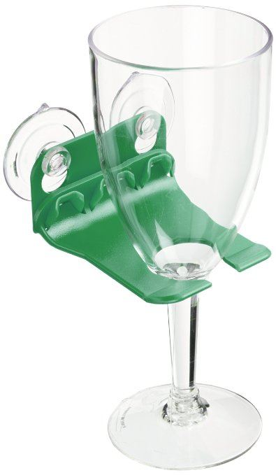 Bathtub Wine Glass Holder Suction Cups By Wavehooks 5 Colors To Choose Ebay