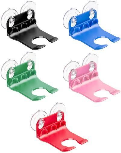 . Bathtub Wine Glass Holder Suction Cups By WaveHooks 5 Colors To Choose
