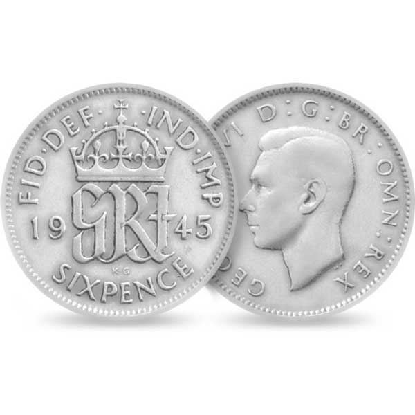 The Lucky Silver Sixpence by The Royal Mint Ltd