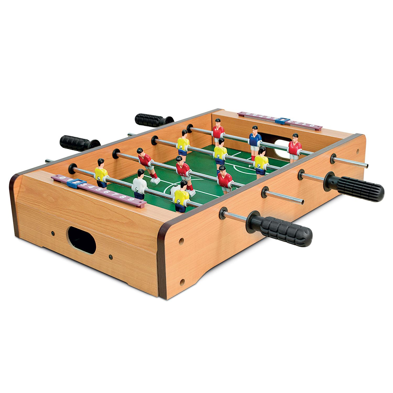 Delightful Mini Table Top Air Hockey Football Pool Game