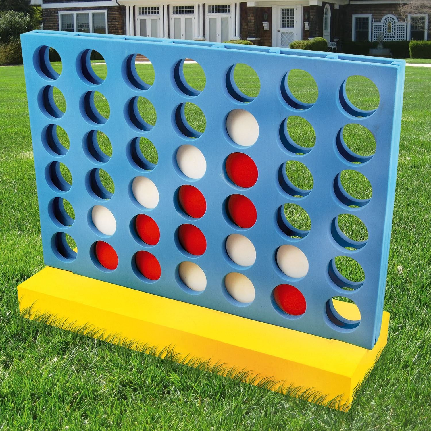 GIANT CONNECT 4 IN A ROW ADULTS KIDS FAMILY FUN PARTY GIFT
