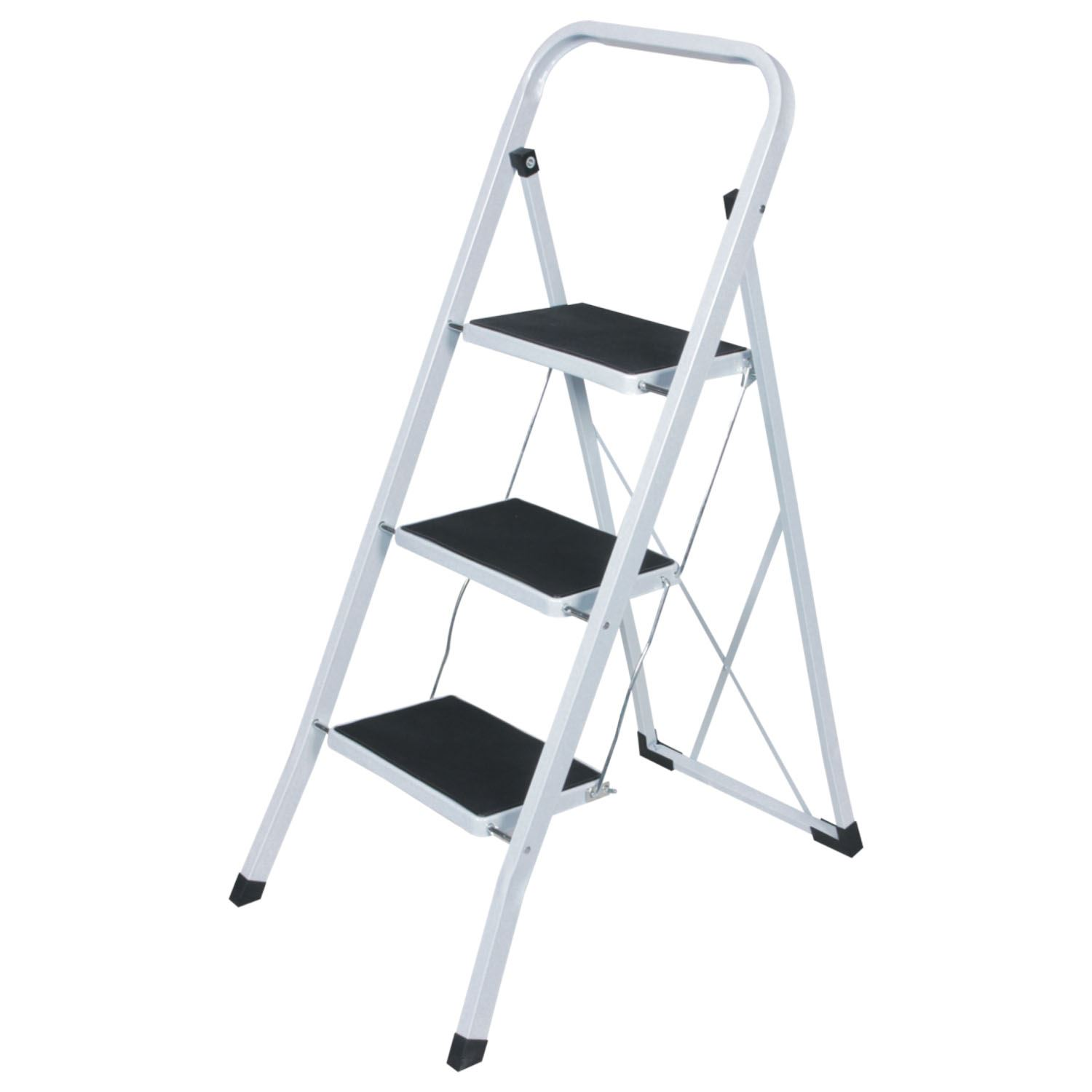 2 3 4 Heavy Duty Foldable Step Ladder Strong Folding Non
