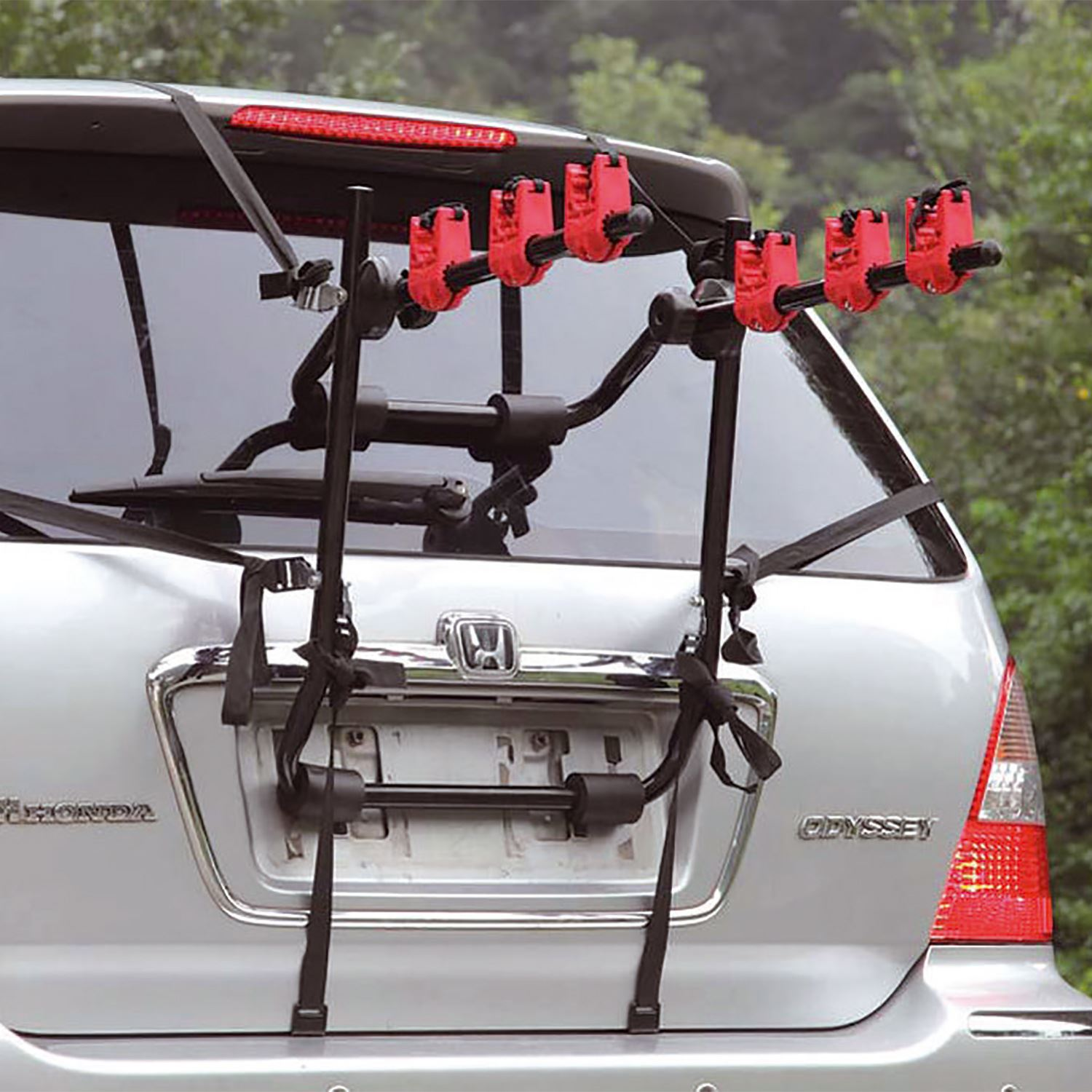 3 Bicycle Bike Car Cycle Carrier Rack Hatchback Rear Mount ...