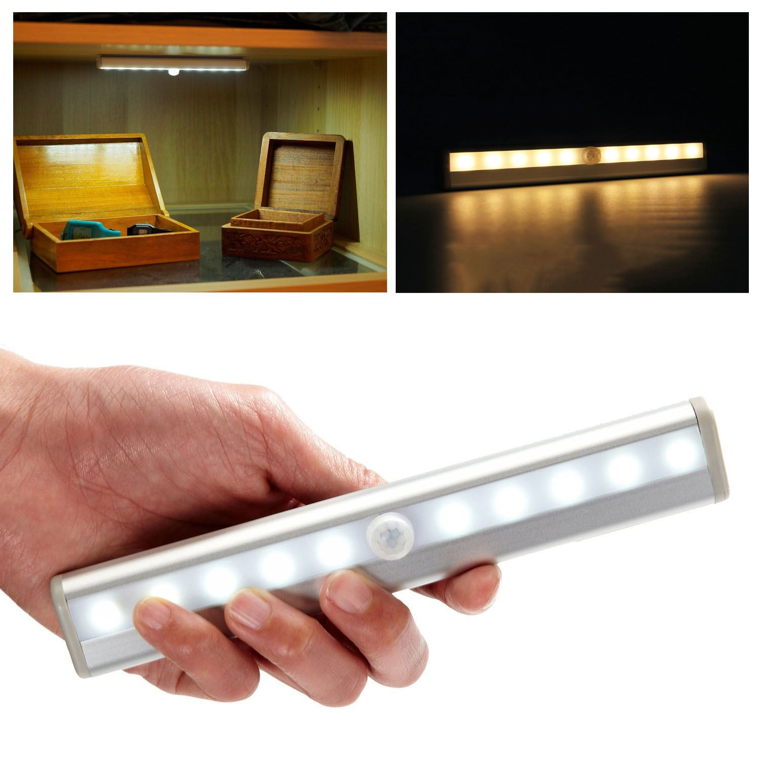 10 Led Motion Activated Cordless Sensor Led Light Indoor