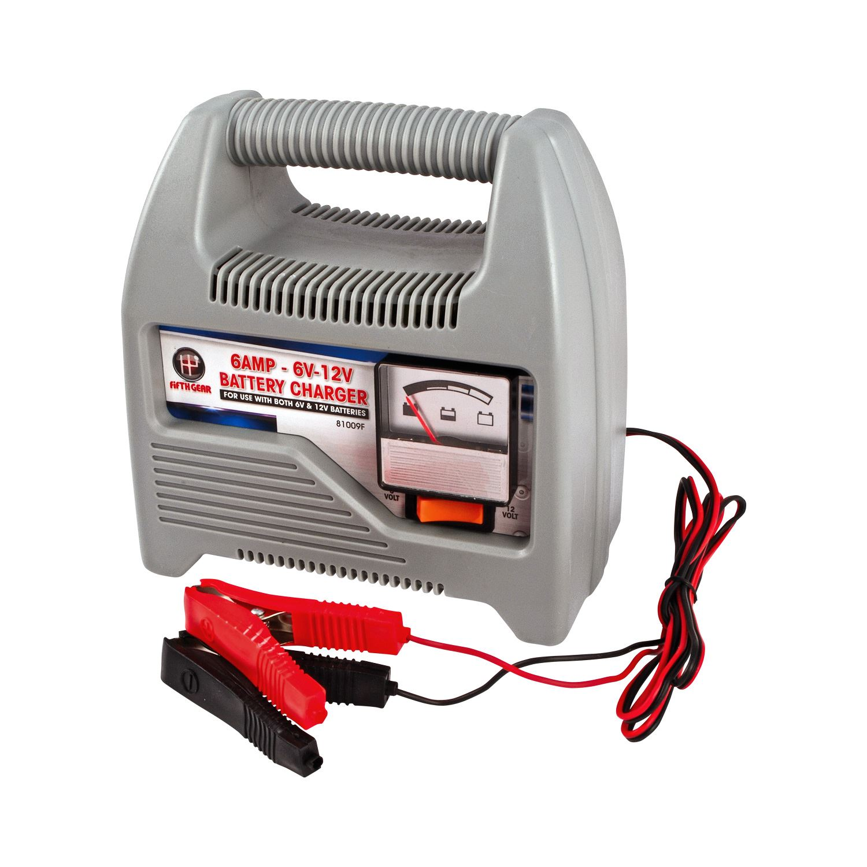 Small Car Battery : V heavy duty amp portable compact vehicle car van bike
