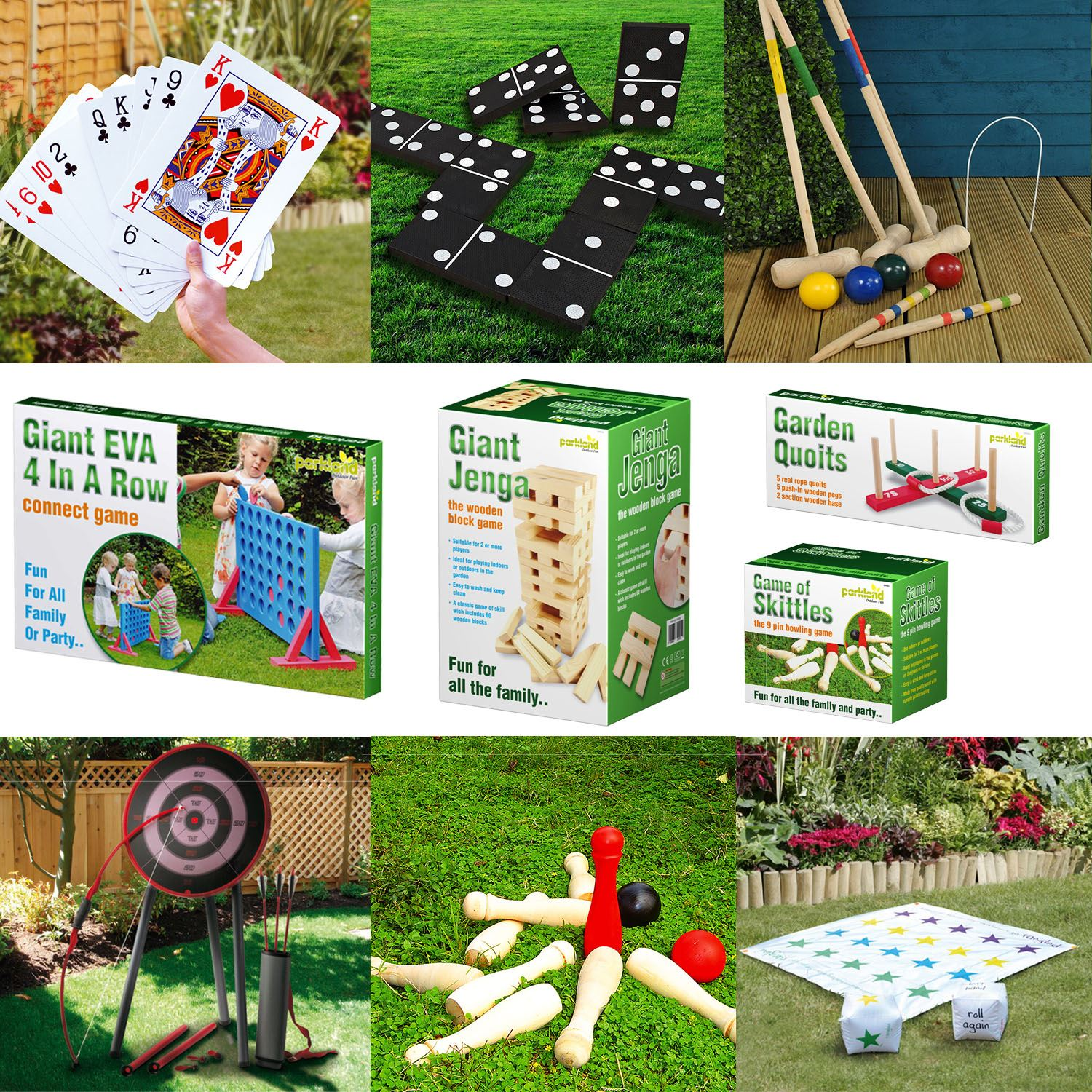 Giant Garden Games Outdoor Summer Beach BBQ Party Kids Fun Quoits