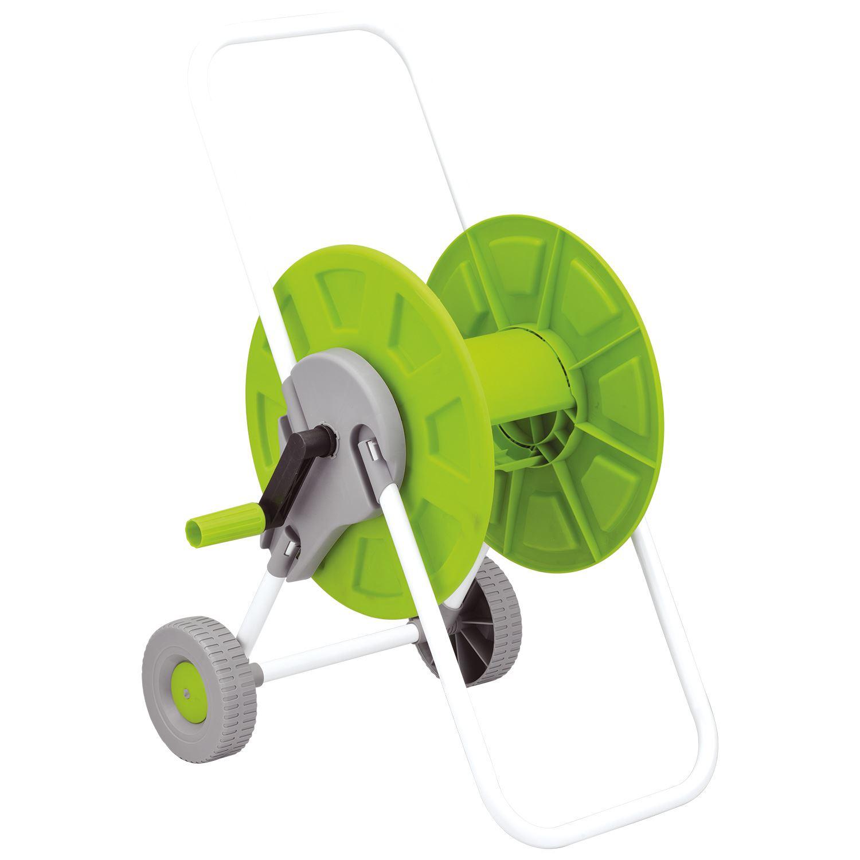New 60m Hose Pipe Reel Holder Trolley Cart Garden Water Portable Free Standing Ebay