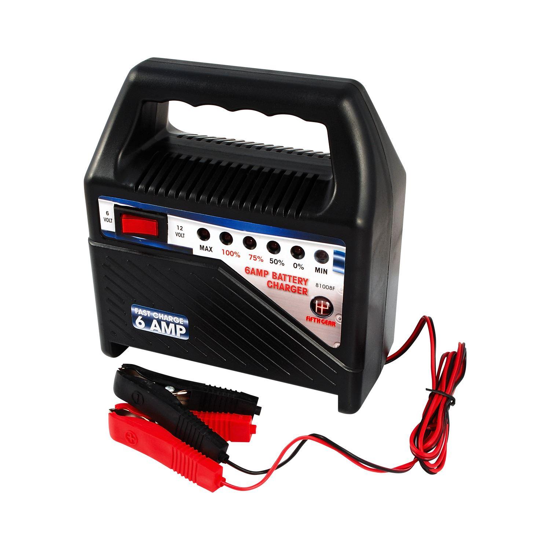 Small Car Battery : Amp heavy duty v volt car van bike battery charger