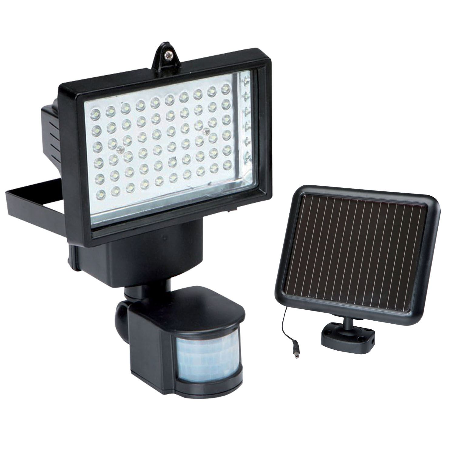 Patio Lights Wireless: Solar Power Wireless PIR Motion Sensor Security Shed Wall