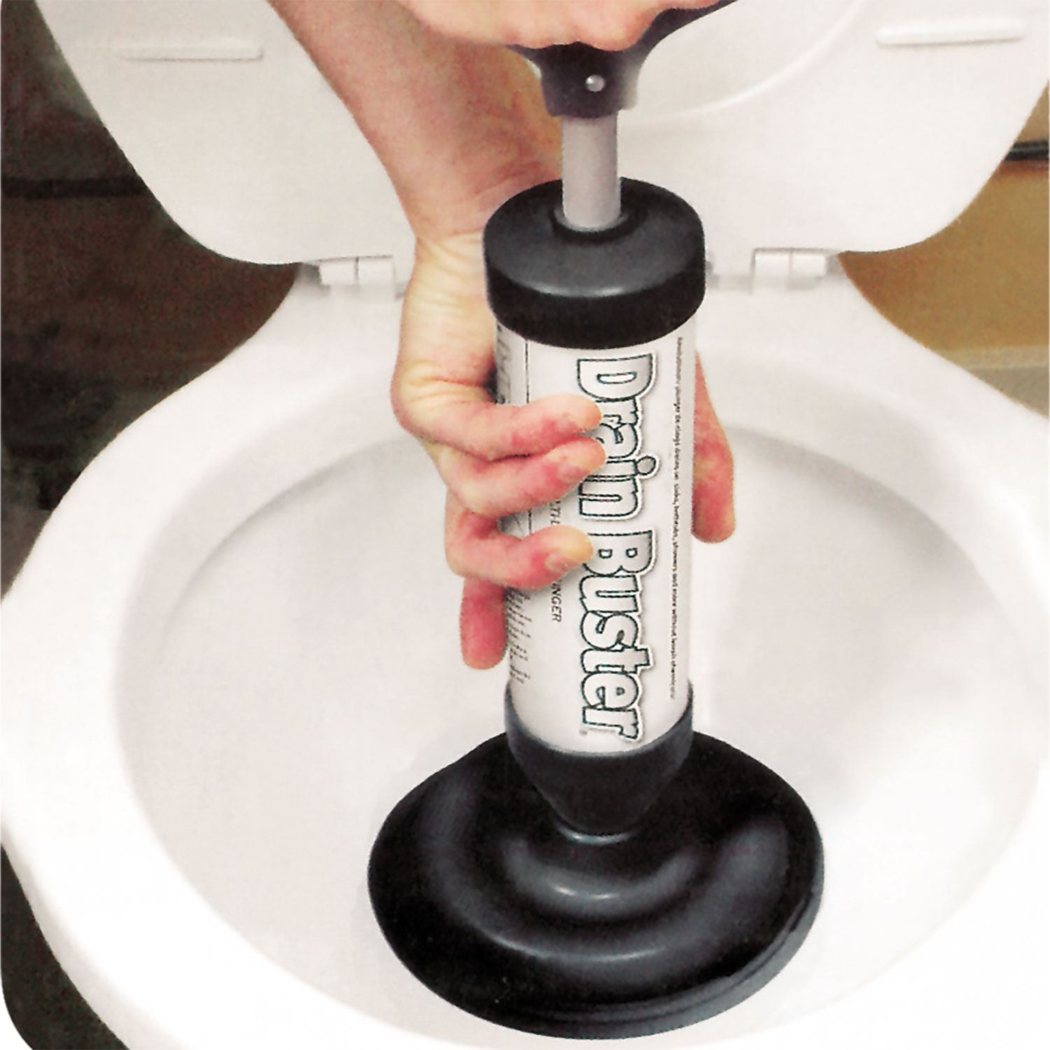 Multi Drain Buster Plunger Powerful Toilet Sink Clog