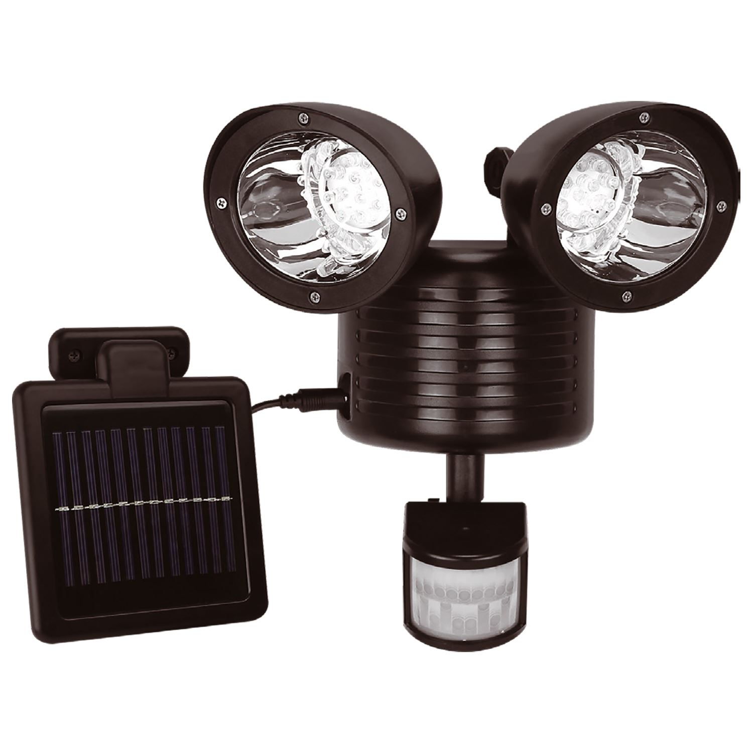 Solar Power Wireless PIR Motion Sensor Security Shed Wall Outdoor Garden Lights eBay